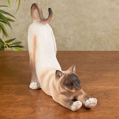 Sox Cat Sculpture Tawny