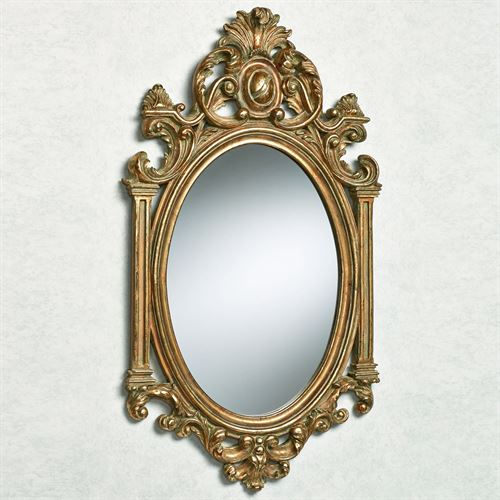 Elisabeth Column Wall Mirror Baroque Gold
