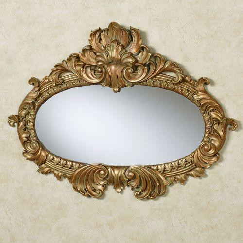 Bridgette Wall Mirror Verdi Gold