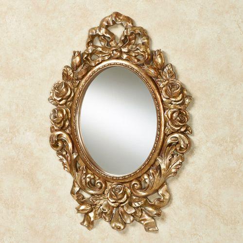 Eileen Rose Wall Mirror Gold