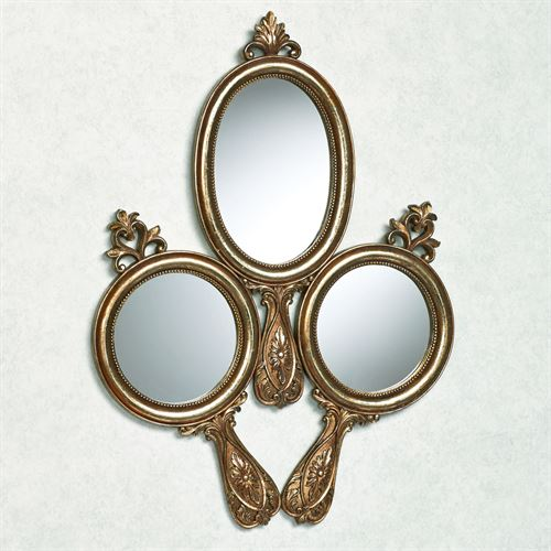 Lavonne Wall Mirror Aged Gold