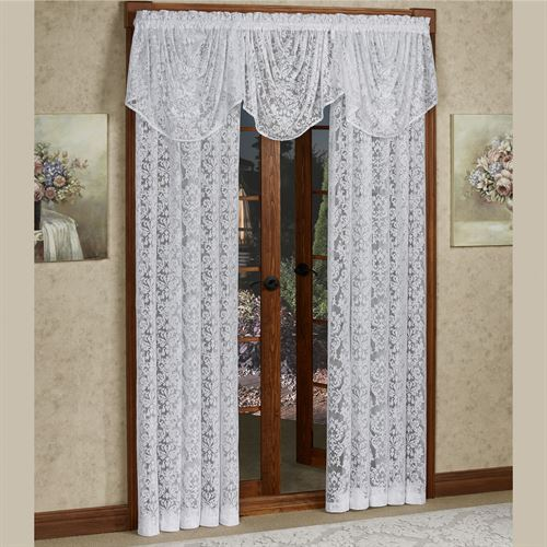 Astor Lace Tailored Curtain Panel
