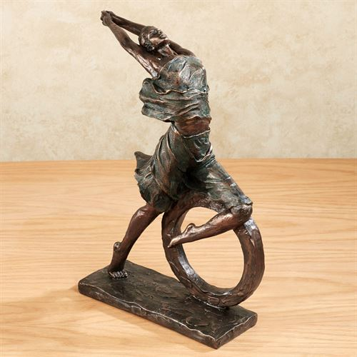 Graceful Movement Figurine Copper