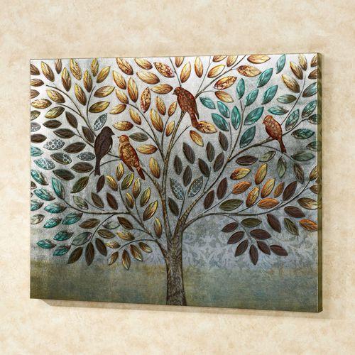 Natures Splendor Canvas Art Multi Warm