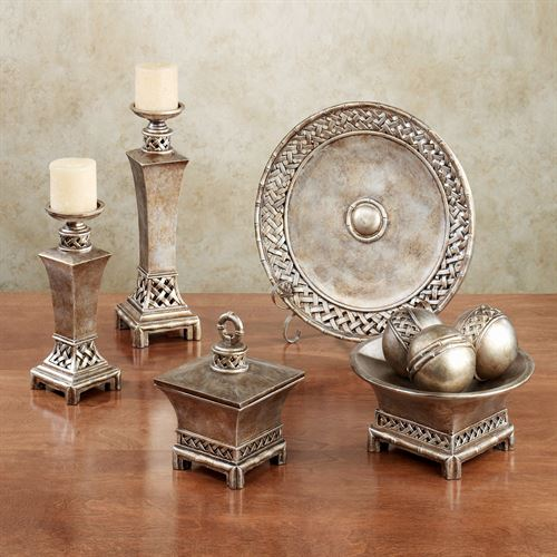 Landrum Decorative Home Accents Bronze Set Of Nine