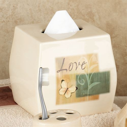 Tranquility Tissue Cover Beige