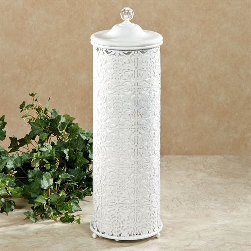 Lace Design Toilet Tissue Holder