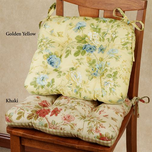 Charlotte Reversible Chair Cushion 17 x 15