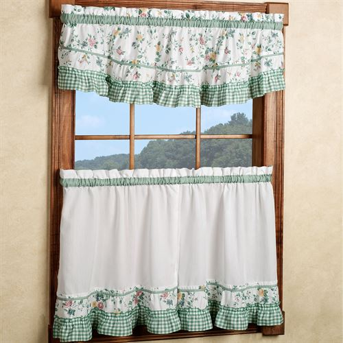 Dreams Ruffled Scoop Valance 54 x 15