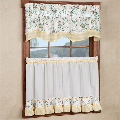 Dreams Scalloped Valance 53 x 15