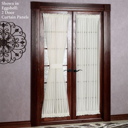 Reverie Semi Sheer Door Panel
