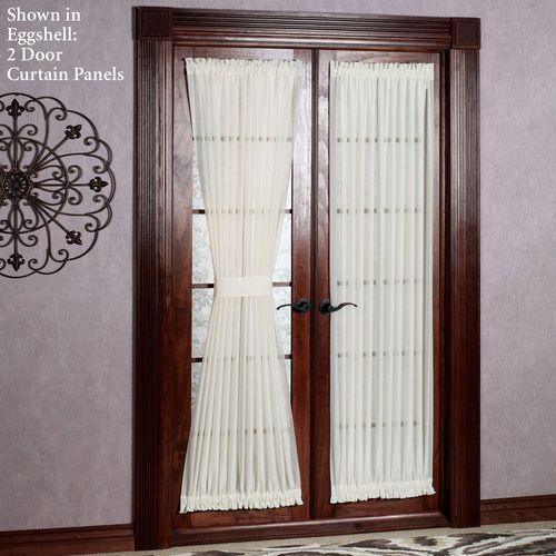 Reverie Semi Sheer Door Panel