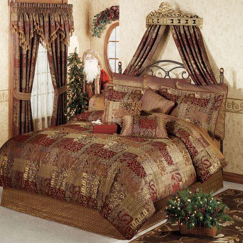 Galleria 4 pc Comforter Set Spice