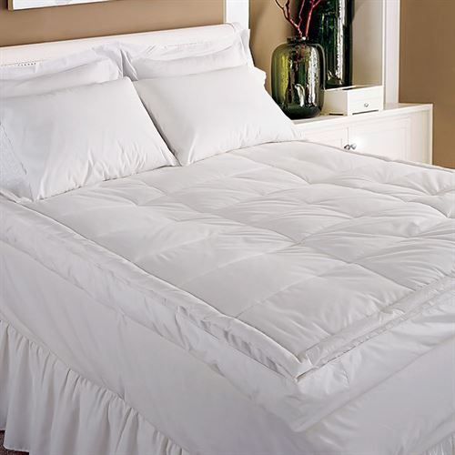 Pillow Top Featherbed White