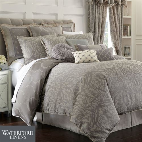 Montaigne Comforter Set Charcoal