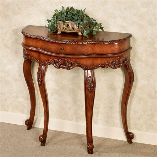 Delegato Console Table Natural Cherry