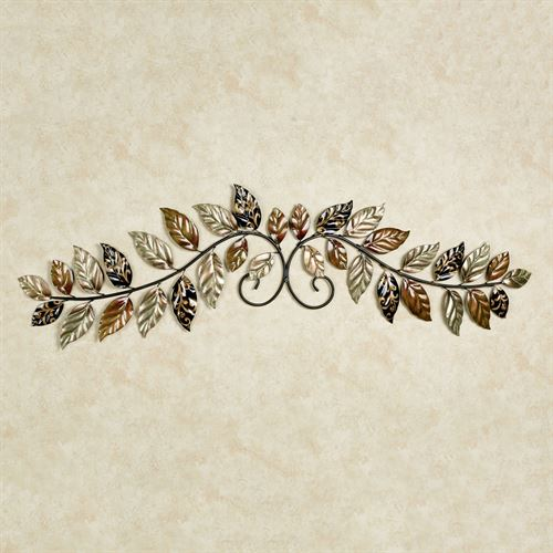 Autumn Odyssey Wall Topper Multi Metallic