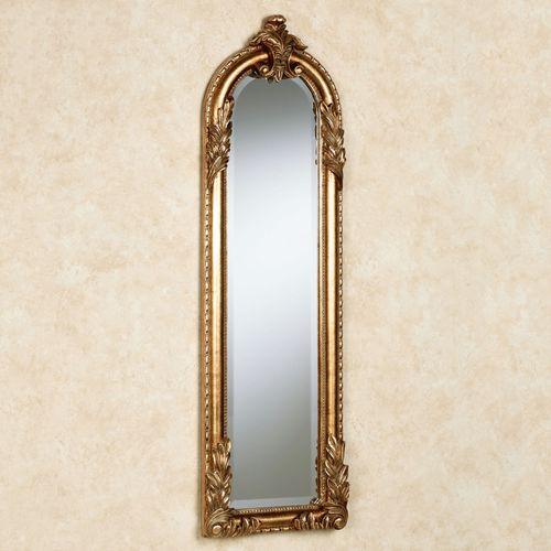 Royal Acanthus Panel Wall Mirror Gold