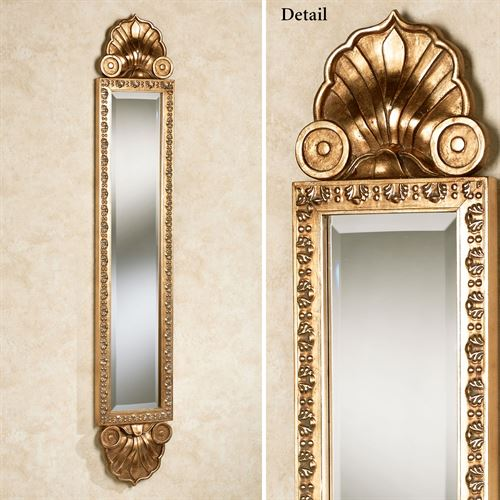 Shell Sargent Panel Wall Mirror Gold