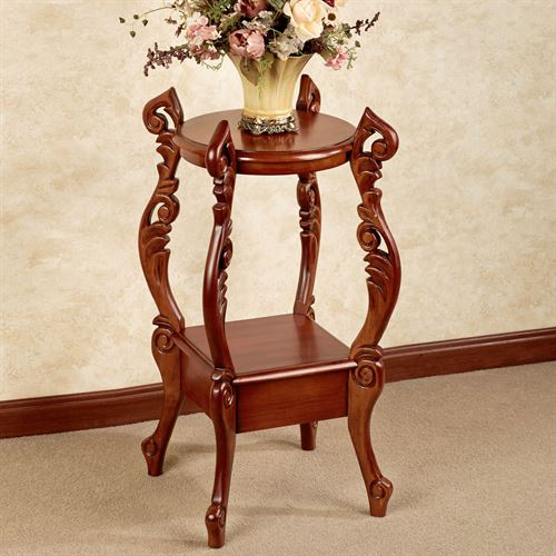 Evita Accent Table Natural Cherry