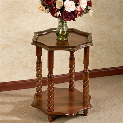 Kaleigh Accent Table Regal Walnut