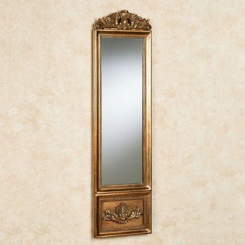 Aura Panel Wall Mirror Gold