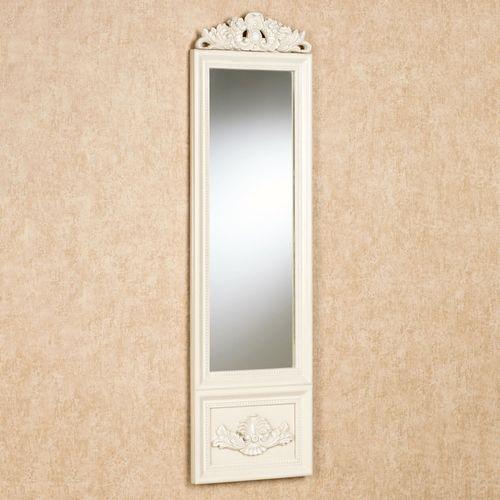 Aura Panel Wall Mirror Ivory