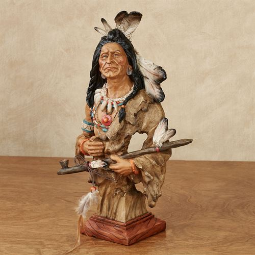 Rugged Promise Warrior Table Sculpture Multi Earth