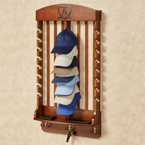 Deluxe Vertical Cap Rack Mission Red Oak 24 Cap