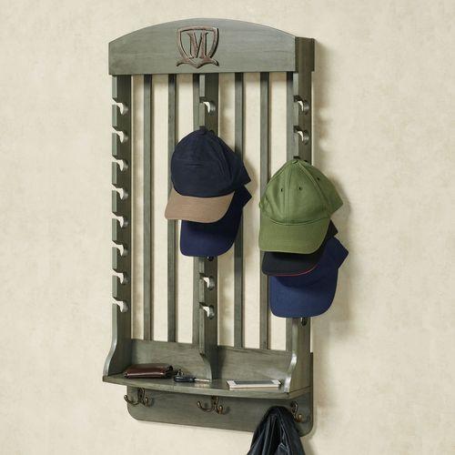 Deluxe Vertical Cap Rack Gray 24 Cap
