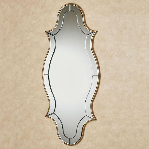 Zinnia Wall Mirror Panel Gold
