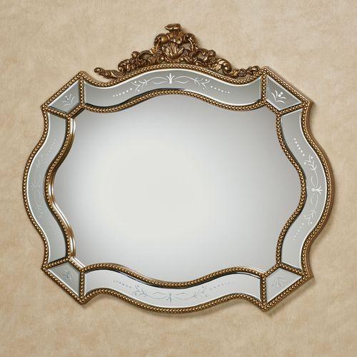 Vivienne Wall Mirror Gold