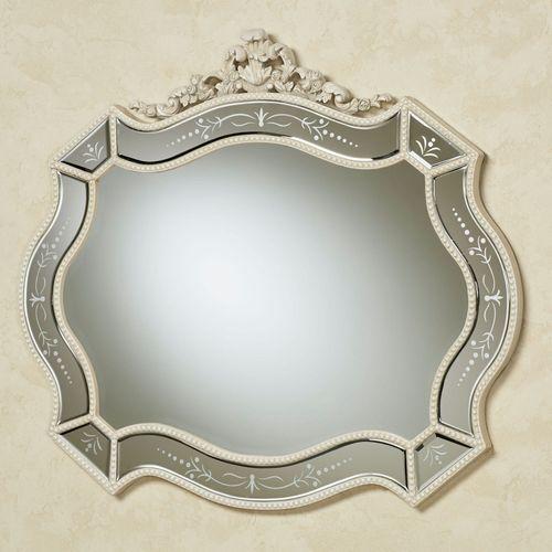 Vivienne Wall Mirror Antique White