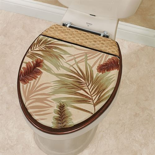 Key West Elongated Toilet Seat Multi Warm