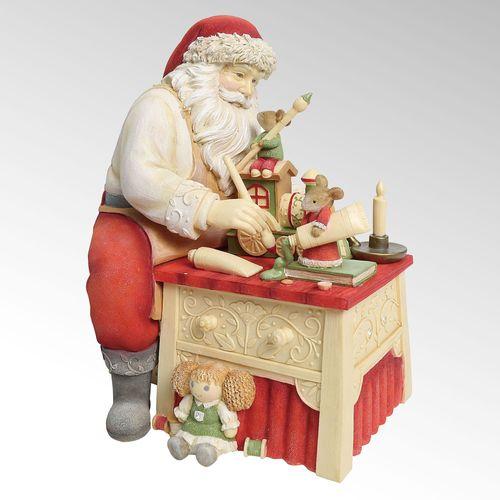 Finishing Touches Santa Figurine Multi Warm