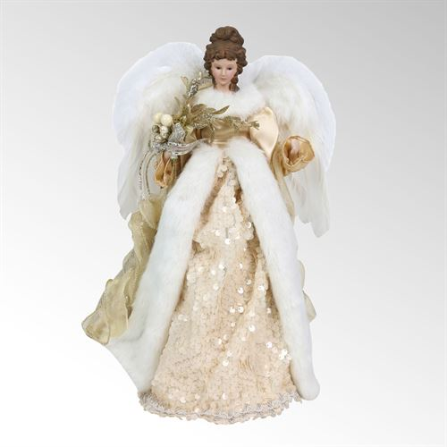 Angel Christmas Tree Topper.Golden Angel Christmas Tree Topper From Dazzle By Enesco