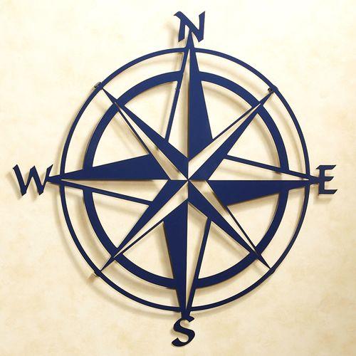 Compass Rose Wall Sculpture
