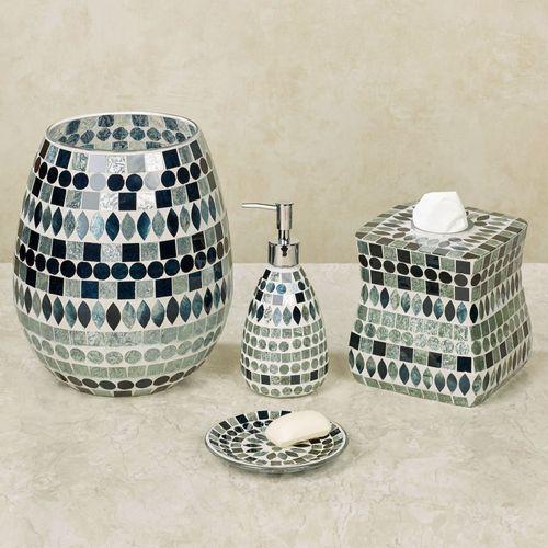 Mosaic Sea Lotion Soap Dispenser Multi Jewel