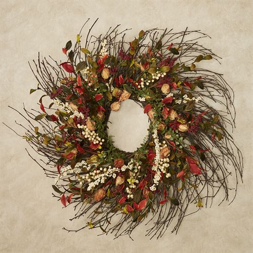 Cape Gooseberry Fall Wreath Multi Warm