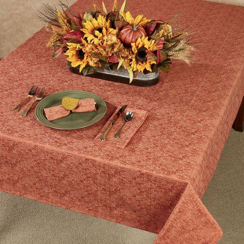 Woodland Oblong Tablecloth Pumpkin Spice