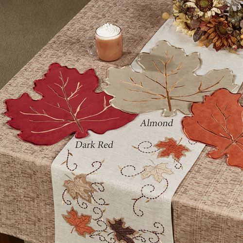 Fall Leaves Placemats Set of Four