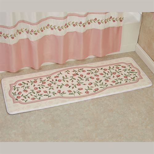 Bridal Rose Cushioned Runner Mat Blush 55 x 20