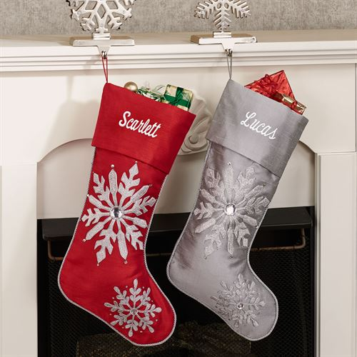 Winter Frost Christmas Stocking