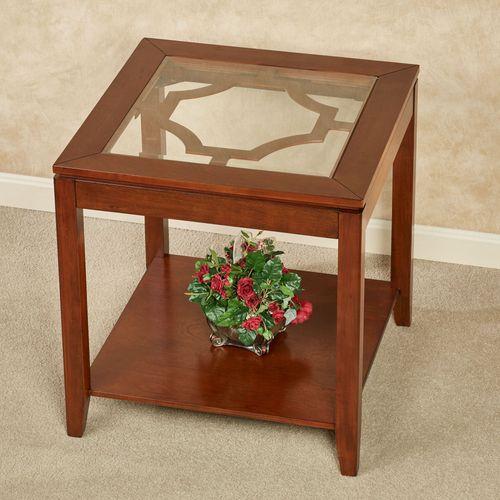 Calderon Side Table Natural Cherry