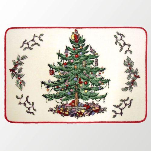Spode Christmas Plates.Spode Christmas Tree Bath Rug
