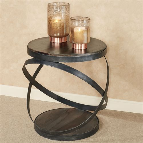 Kane Accent Table Gray