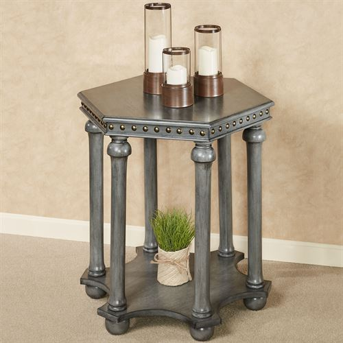 Maximus Accent Table Gray
