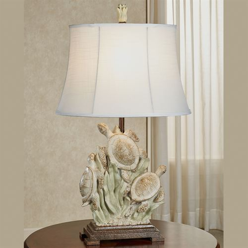 Deveral Coastal Sea Turtle Table Lamp