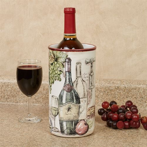 Vintners Journal Wine Cooler Multi Earth
