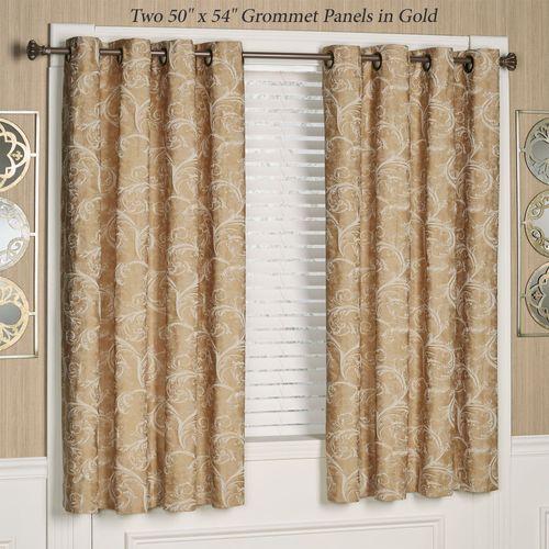 Avignon Short Grommet Curtain Panel